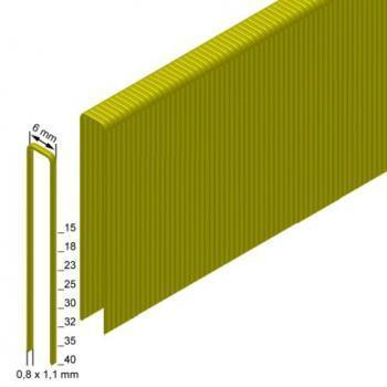Скоба каркасна (столярна) Prebena тип ES ширина 6мм