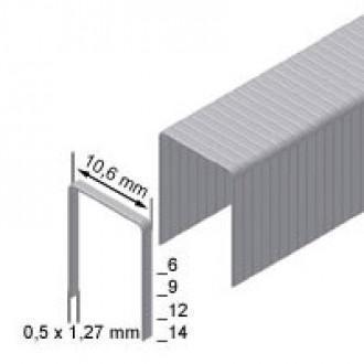 Скоба обивочная Prebena тип PF ширина 10.6мм