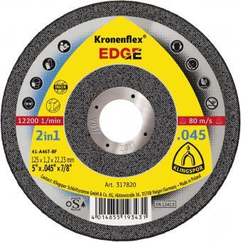 Круг відрізний по металу Kronenflex EDGE SPECIAL