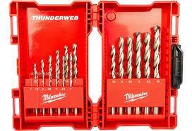Набір свердл по металу Milwaukee THUNDERWEB HSS-G,19 шт(Ø1/1,5/2/2,5/3/3,5/4/4,5/5/5,5/6/6,5/7/7,5..