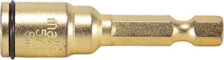 Makita Насадка торцева з пружинним фіксатором HEX1/4, 8 мм, 50 мм
