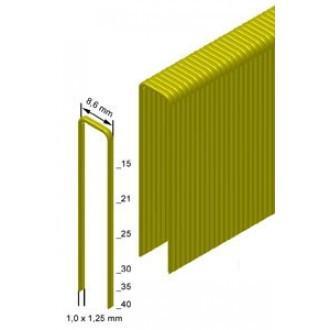 Скоба каркасна (столярна) Prebena тип H-25 ширина 8.6мм (7,2 тис. Шт.)