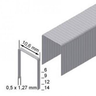 Скоба обивочная Prebena типа PF-06 ширина 10.6мм (0,6 тис. шт.)