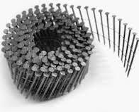 Гвозди в бобине 2.8*70мм черные ершеные (Ящ=7200шт)