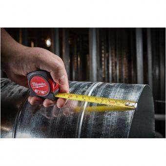 Рулетка без магніта Milwaukee (2м метрична, довжина 2м, 1шт.)